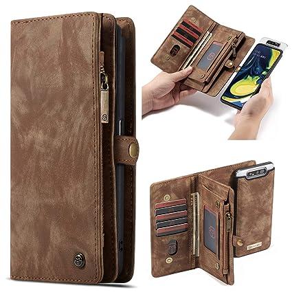 Amazon.com: Funda tipo cartera para Samsung Galaxy A80 ...