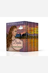 The Brides of Evergreen Box Set: Four Christian Western Romances Kindle Edition