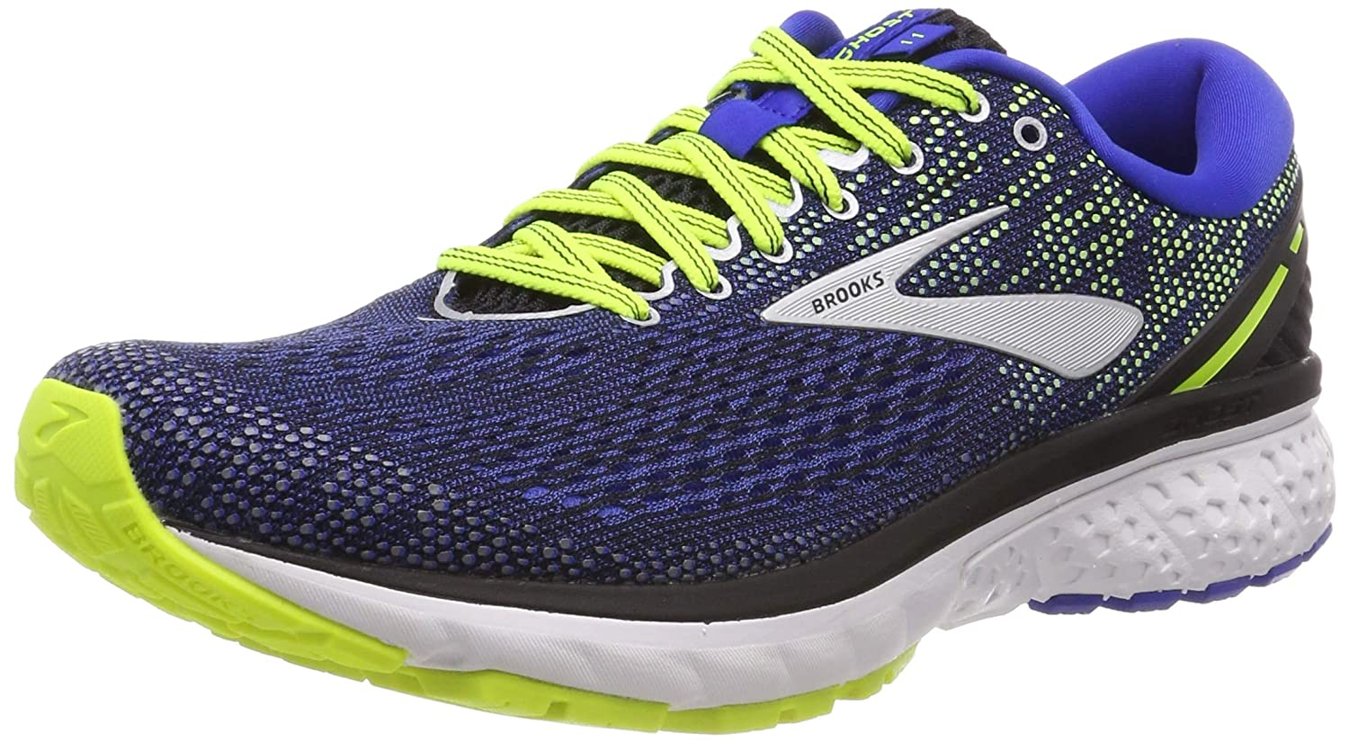 0a60528d63f Brooks Men s Ghost 11 Running Shoes Blue  Amazon.co.uk  Shoes   Bags