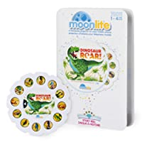 Moonlite Dinosaur Roar! Story Reel for Storybook Projector, for Ages 1 and Up