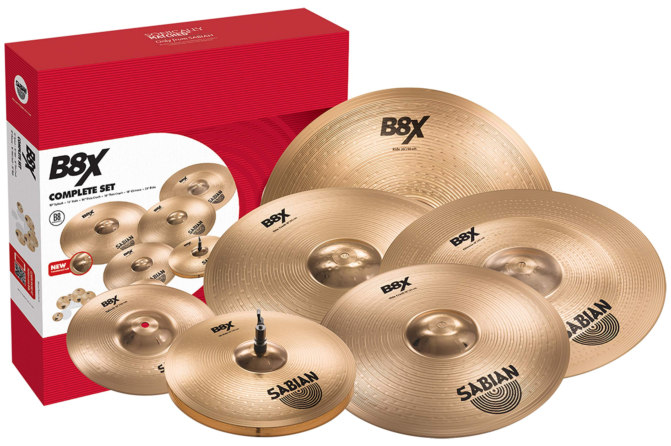 Sabian B8X Performance Set Cymbal Pack by Sabian