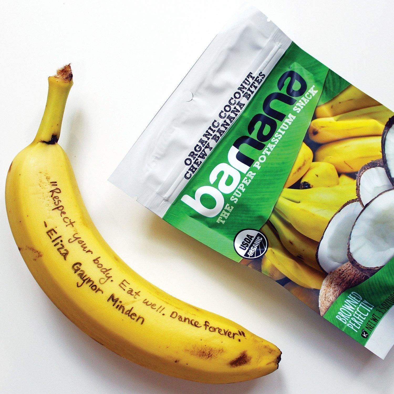 Barnana Organic Chewy Banana Bites, Coconut, 3.5 Ounce, 3 Count by Barnana (Image #6)