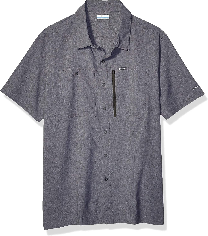 Columbia Mens Pilsner Peak Iii Short Sleeve Shirt