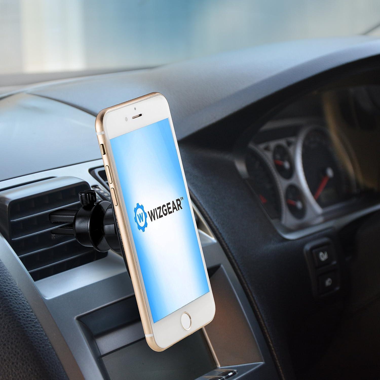 magnetic phone car mount wizgear universal bite lock