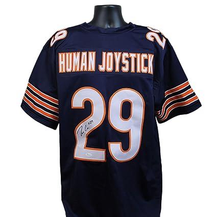 Tarik quot Human Joystick quot  Cohen Autographed Chicago Bears Blue Custom  Jersey w JSA COA 0b169b998
