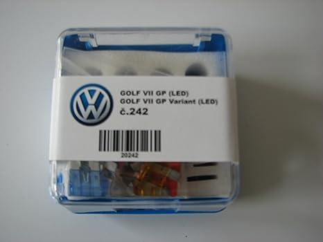 Bombillas de repuesto Set Golf VII y Golf VII Variant en caja con 2 Bombillas de