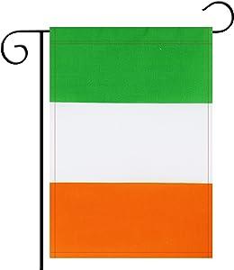 NoLogo Garden Flag Ireland Irishman Garden Flag,Garden Decoration Flag,Indoor and Outdoor Flags,Celebration Parade Flags,Anniversary Celebration, National Day,Double-Sided.