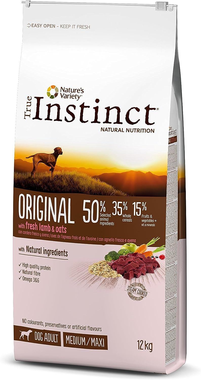 True Instinct Original - Nature's Variety - Pienso para Perros Medium Adult con Cordero - 12kg
