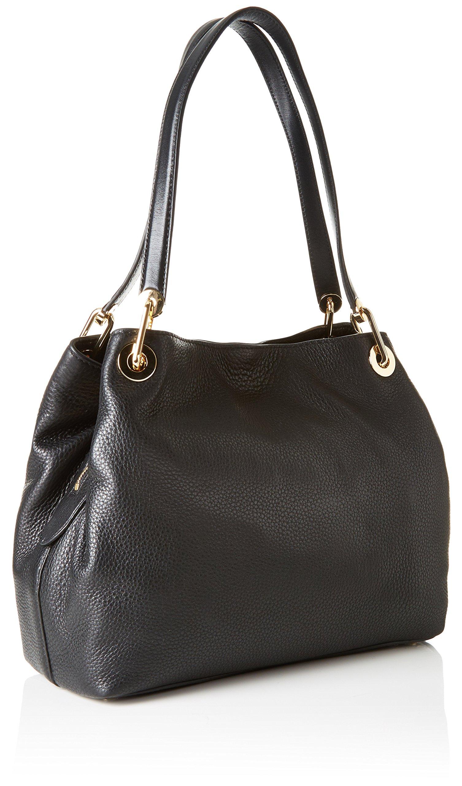 Michael Kors Raven Large Pebbled Leather Shoulder Bag