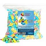 Candy Blocks - Candy Blox - Candy Building Blocks, 3 LB Bulk Candy