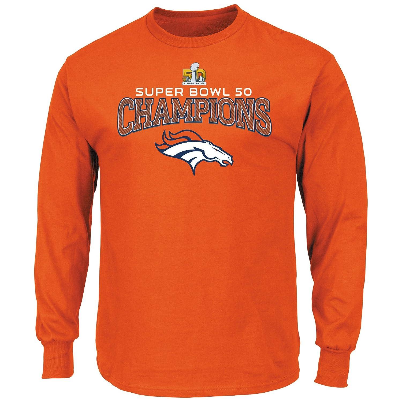 284683d8 Amazon.com : Majestic Athletic Denver Broncos Super Bowl 50 Champs ...
