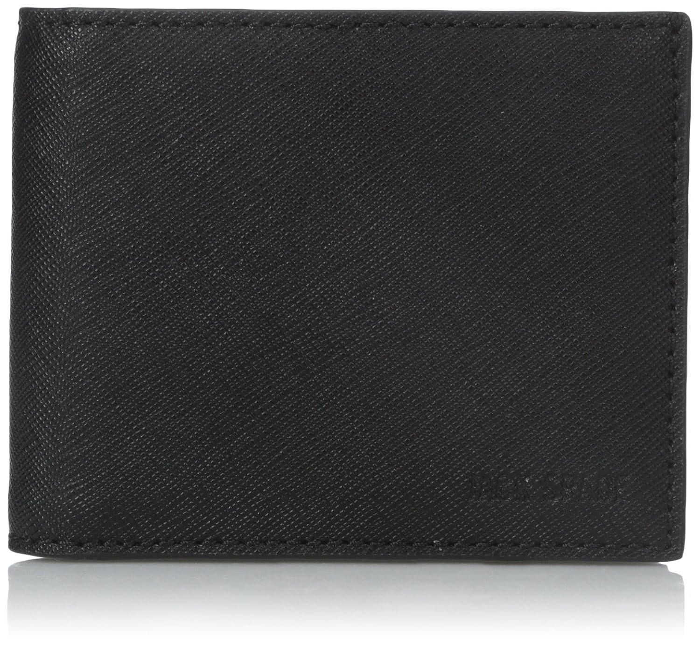 [ジャックスペード] JACK SPADE 折り財布 BARROW LEATHER SLIM BILLFOLD B00V3YLCQ8ブラック