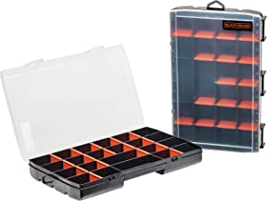 beyond by BLACK+DECKER Tool Organizer, 22-Compartment, 2-Pack (BDST60714AEV)