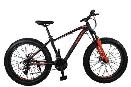 adaf821ac2d Buy FitTrip Marine 2.0 Alloy Fatbike (Black/Orange) Online at Low ...