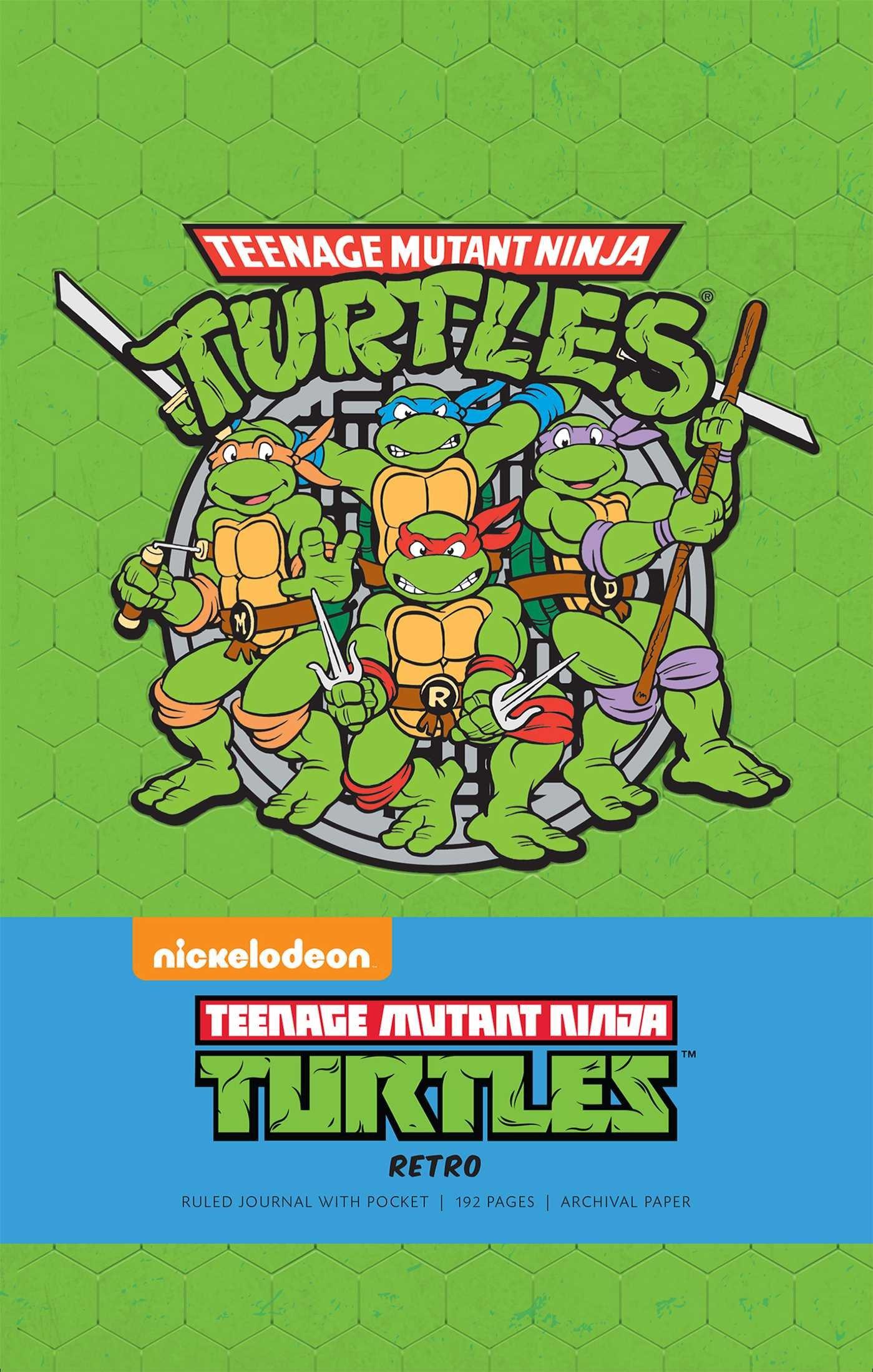 Amazon.com: Teenage Mutant Ninja Turtles Retro Hardcover ...