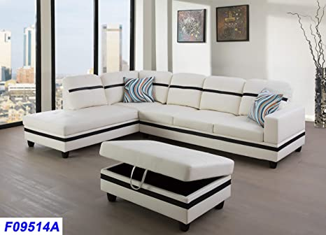 Fantastic Amazon Com Lifestyle Furniture Left Facing 3Pc Sectional Dailytribune Chair Design For Home Dailytribuneorg
