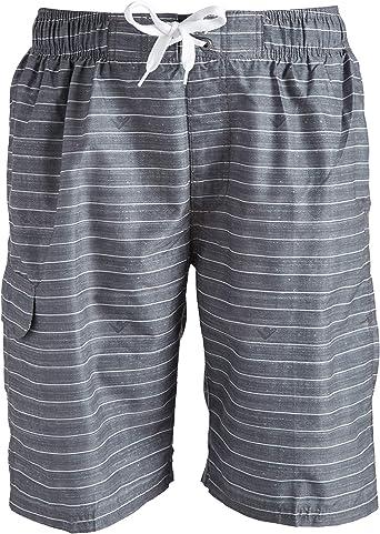 Mens Family Feet Quick Drying Ultra Light Surf Pants Swim Trunks