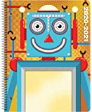 Dated Elementary Student Planner 2020-2021 Academic School Year, 8.5x11 inch Block Style Datebook with Create Robot…