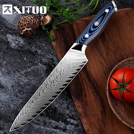 Amazon Com Best Quality Kitchen Knives 8 Inch Damascus Chef