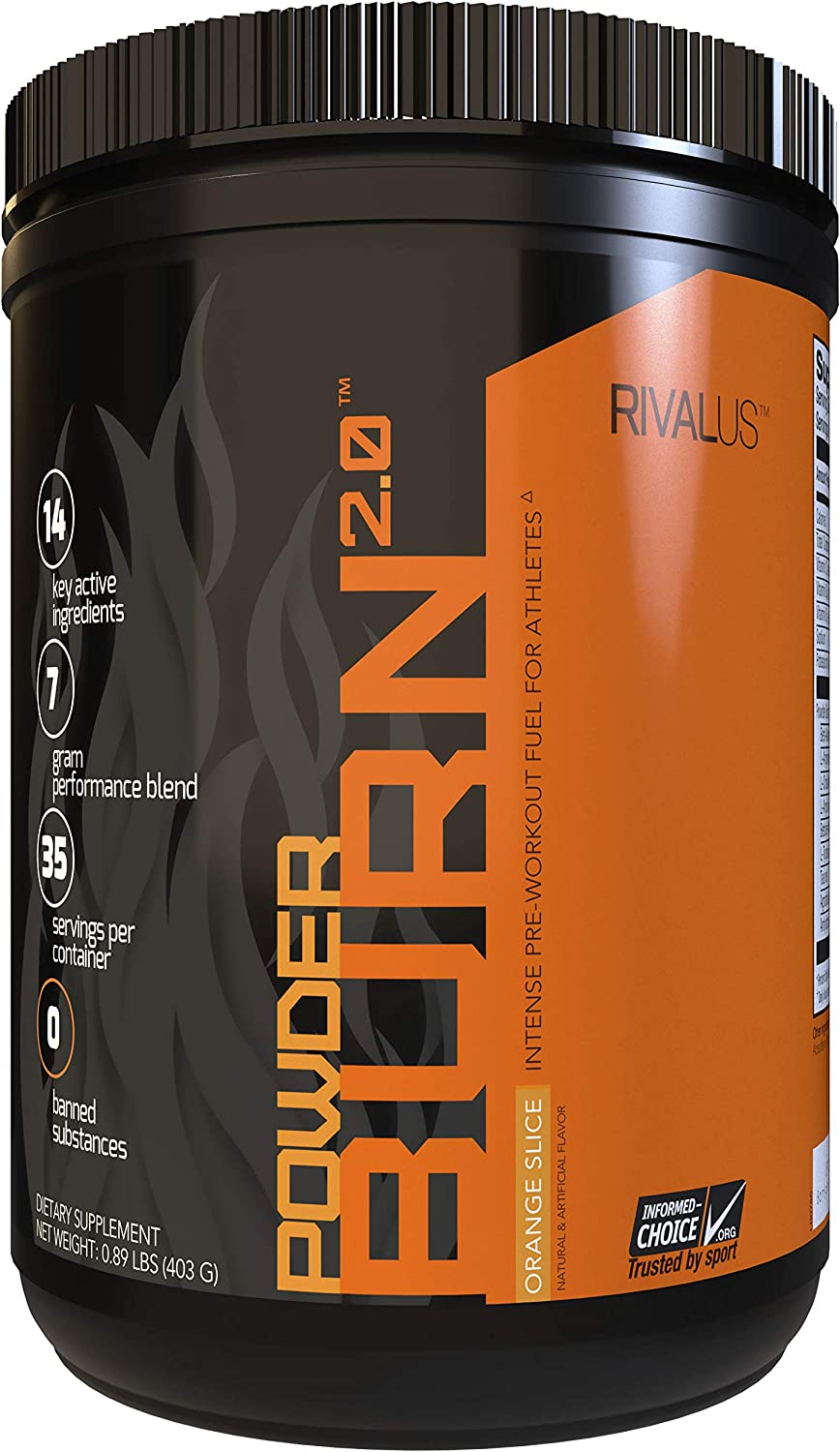 Powder Burn 2.0 Orange 35 Serving,14.24 Ounce