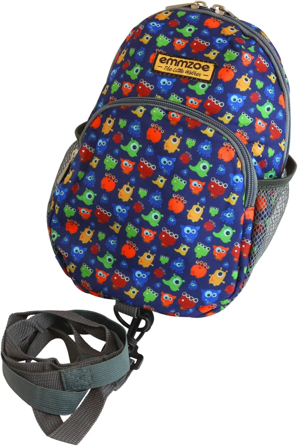 Toys Neon Blue Food Emmzoe Little Walker Neon Toddler Backpack with Safety Harness Leash Lightweight Fits Snacks