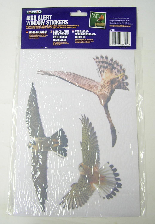 Gardman wild bird alert window sticker pack amazon co uk kitchen home