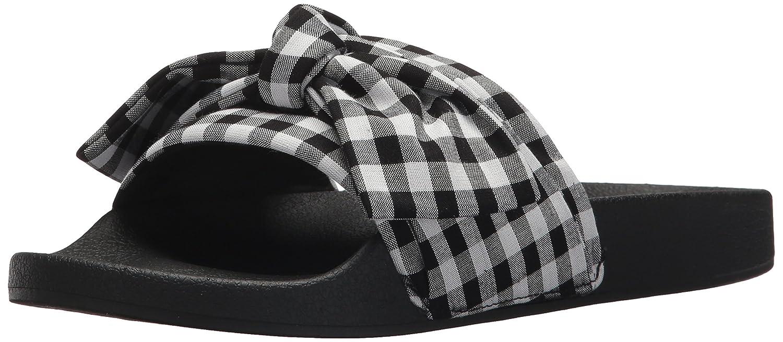Steve Madden Women's Silky-g Slide US|Black/Multi Sandal B073XBQSDX 6 B(M) US|Black/Multi Slide b62498