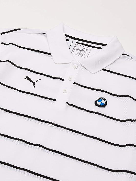 PUMA BMW MMS Motorsport Striped Polo Camisa de Polo Hombre