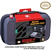 Officially Licensed Nintendo Super Nintendo Entertainment System Carrying Case – Protective Deluxe Travel System Case…
