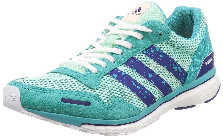 Adidas Adizero Adios 3 W, Zapatillas de Trail Running para Mujer 36 2/3 EU|Multicolor (Mencla/Tinmis/Agalre 000)