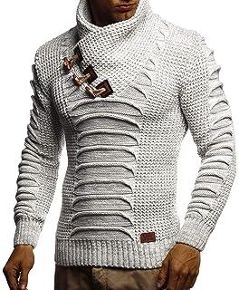 11b6057df0bd Indicode Herren Dane Grobstrick Winter-Pullover Norweger Hoodie ...