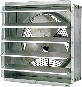 Triangle Fans Direct-Drive General-Purpose Exhaust Fan - 16in. .25 HP, 2,600 CFM, Model Number GPX1611
