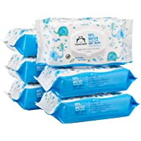 Mama Bear 432 Count (6 Packs of 72 Wipes) 99% Water Fragrance Free Baby Wipes