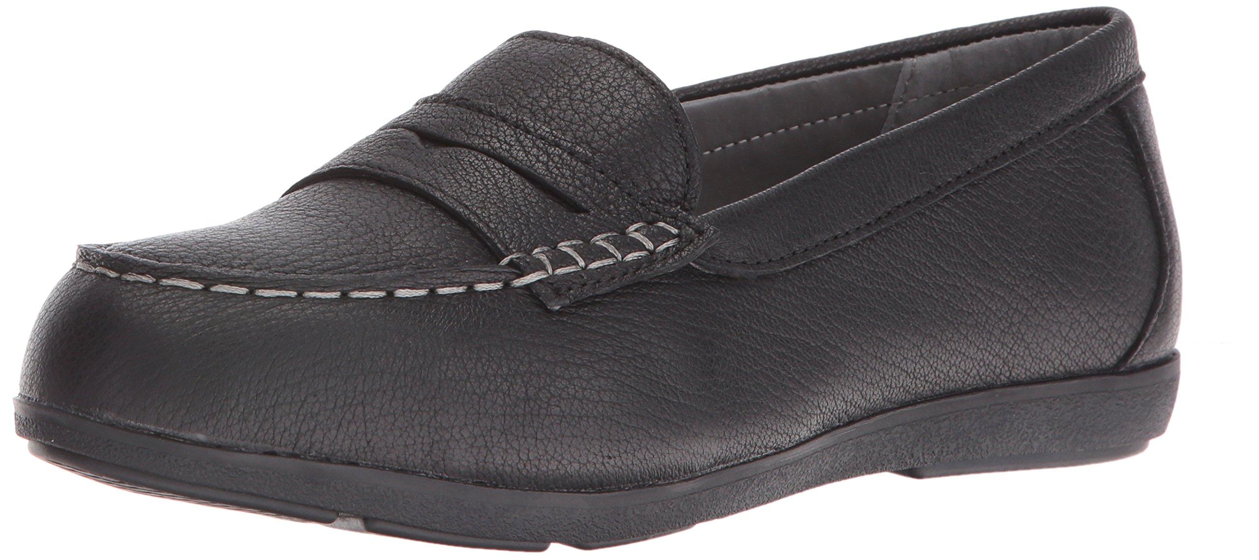 Rockport Work Women's Top Shore RK600 Work Shoe, Black, 8.5 M US