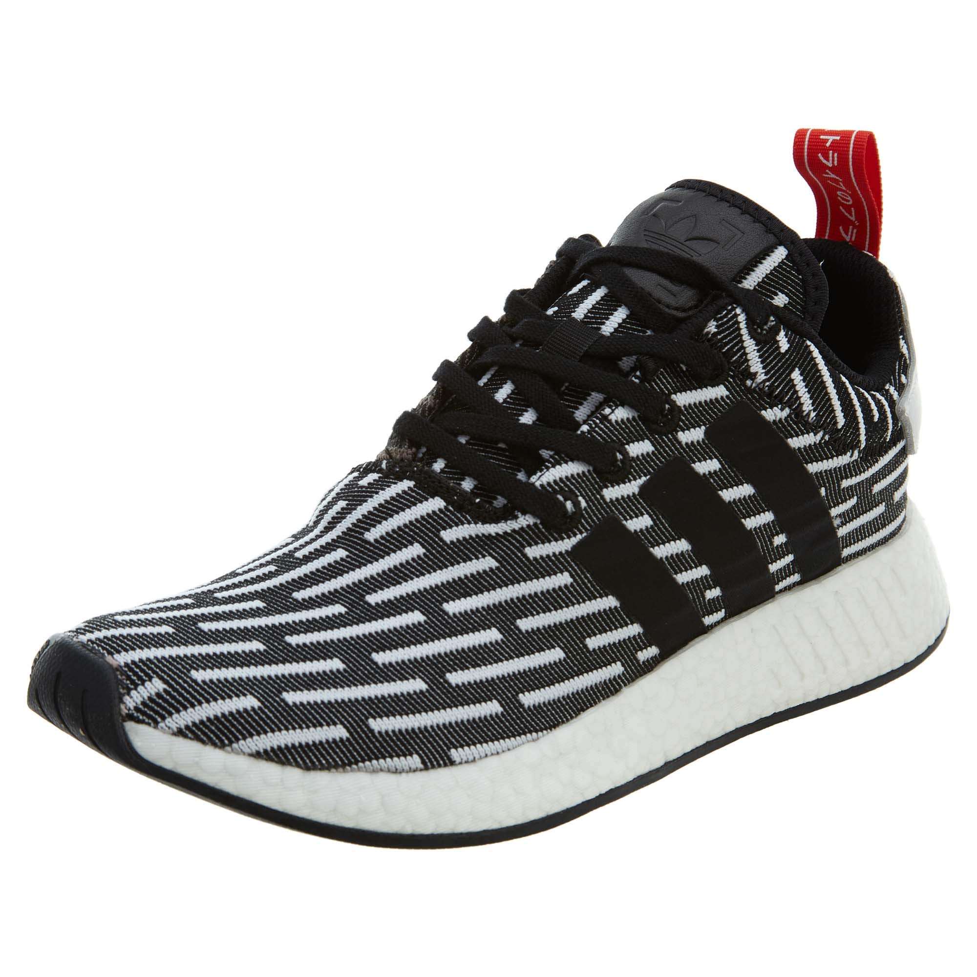 37e1a17743ab7 Galleon - Adidas NMD R2 Pk Mens Style  BB2951-Blk Wht Size  8 Black White
