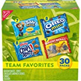 Nabisco Team Favorites Variety Pack, OREO Mini, CHIPS AHOY! Mini, Teddy Grahams Honey & Barnum's Animal Crackers, Halloween T