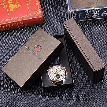 Relojes Forsining Classic Reloj Mecánico para Hombre Calendario De ...