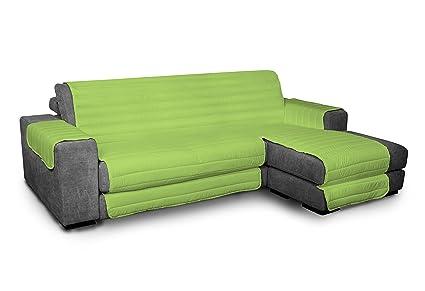 ITALYSWEETHOME salvadivano Salva sofá Microfibra con Chaise ...