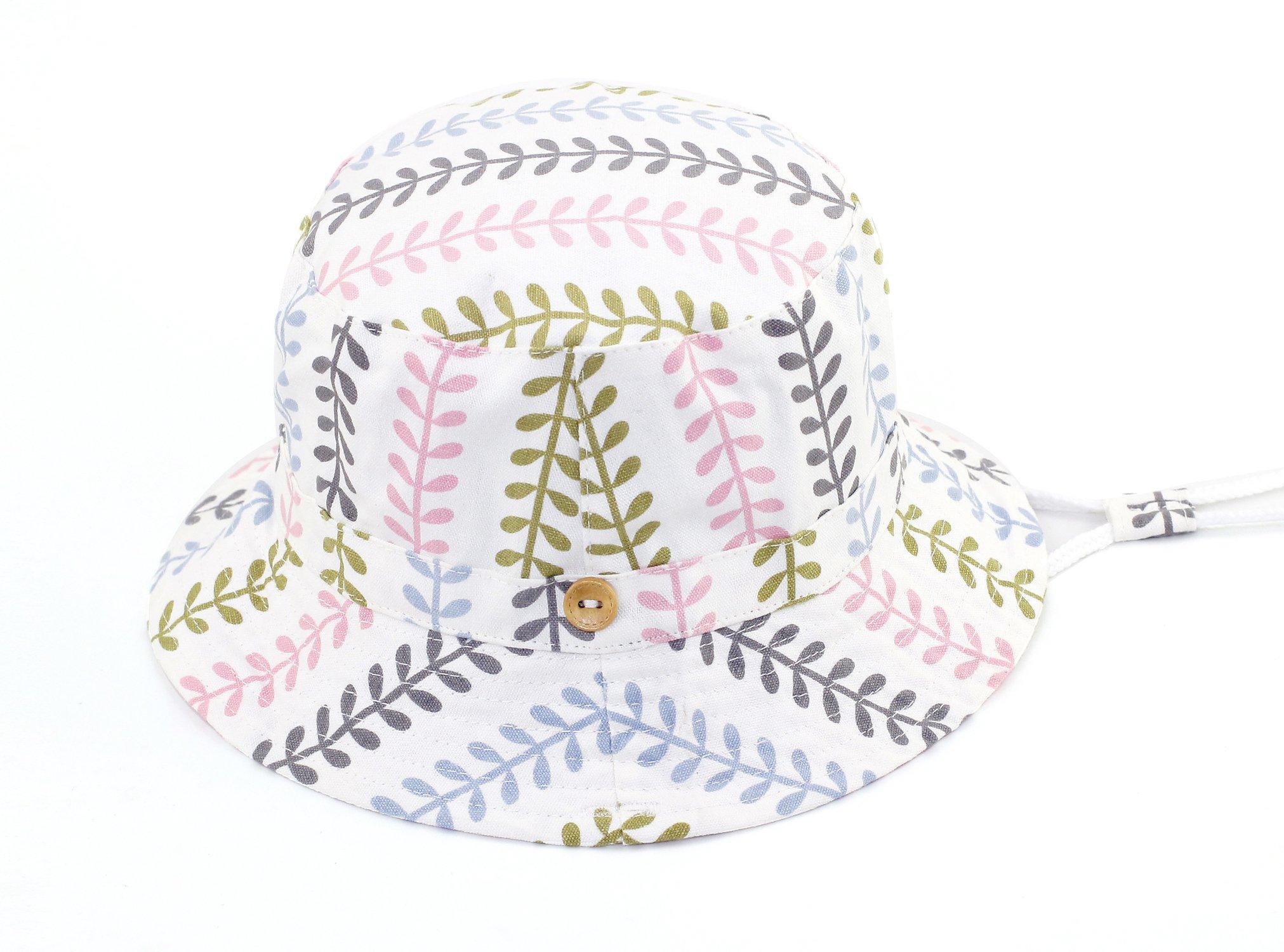 Home Prefer Toddler Kids UPF 50+ Bucket Sun Hat Summer Outdoor Sun Protection Hat for Girls #50