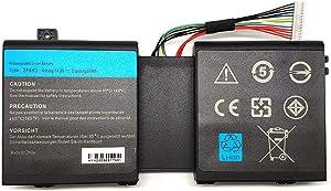 Tandirect New 2F8k3 M18X Replacement Battery Compatible Dell Alienware M17X R5 / M18X R3, 2F8K3 02F8K3 G33TT 0G33TT 0KJ2PX KJ2PX C41-N550(86Wh 14.8V)