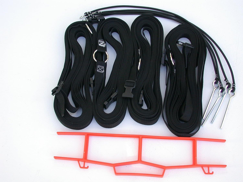 ホームCourt 17 AG Volleyball Grass境界調節可能なWebbing ブラック 1\