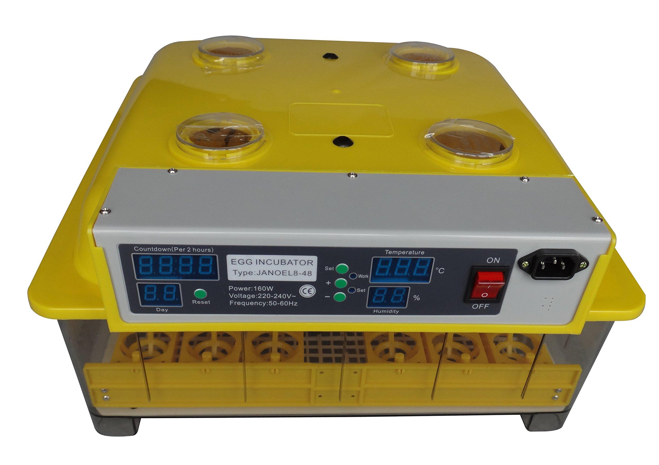 BAC Industries YTF-48AICW Automatic Egg Incubator