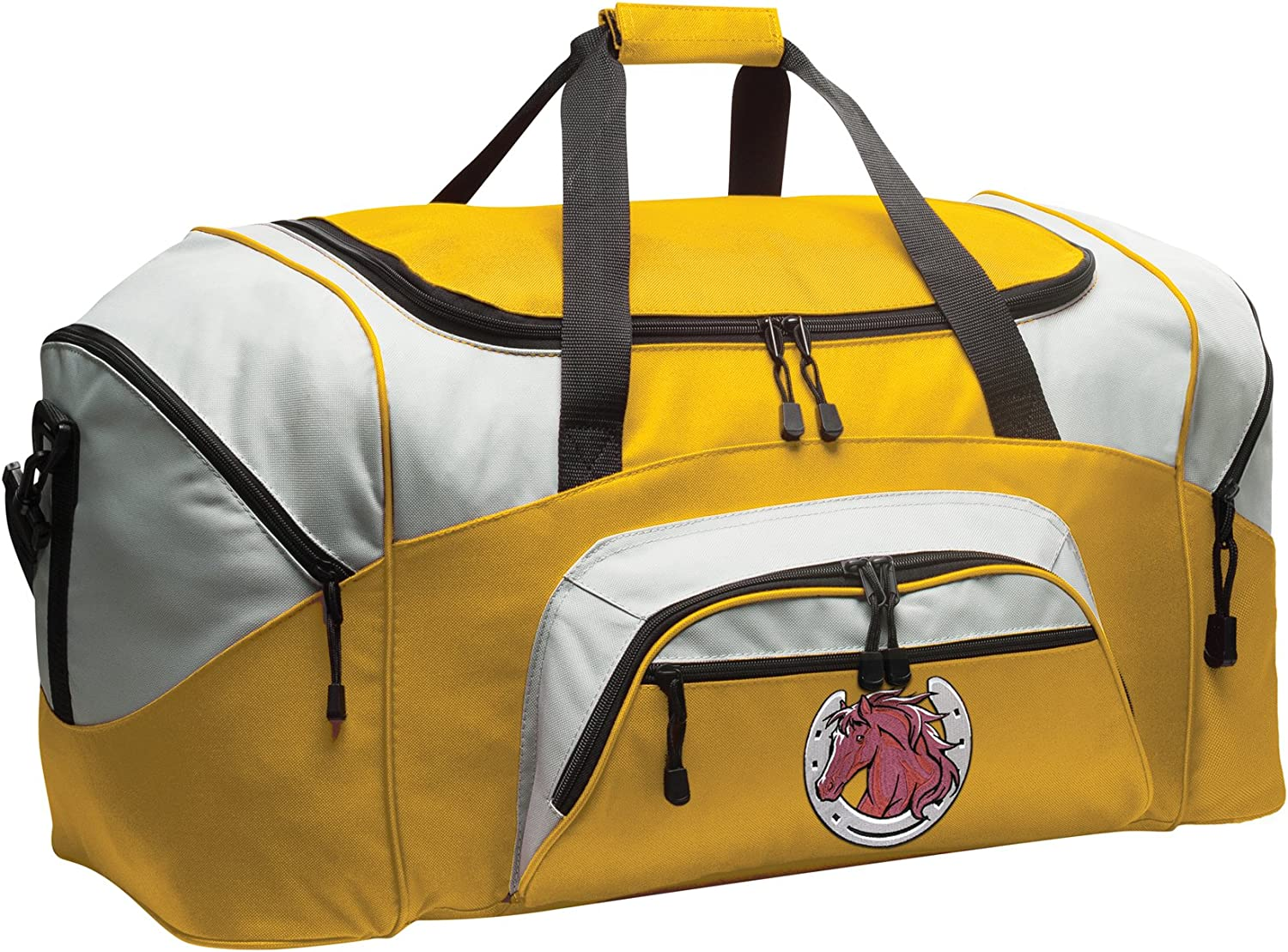 Horse Lover Gym Bag Deluxe Horses Duffle Bag