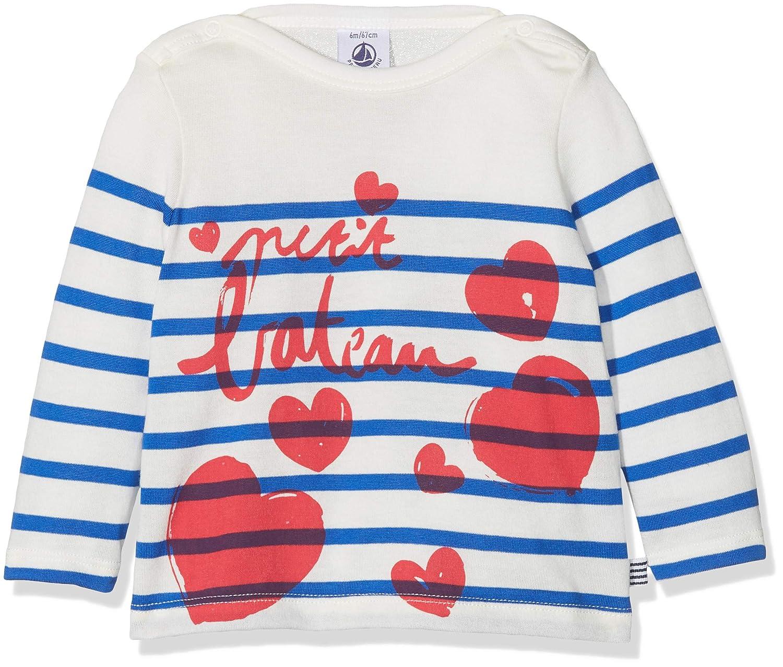 Petit Bateau Tee Shirts ML Jour, Bébé Fille 44686
