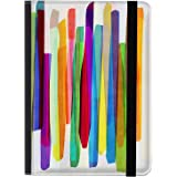 caseable Kindle and Kindle Paperwhite Case, Colourful Stripes 1