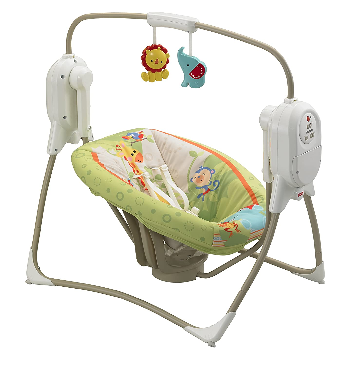 Mattel BFH05 - Fisher-Price Rainforest Babyschaukel ...