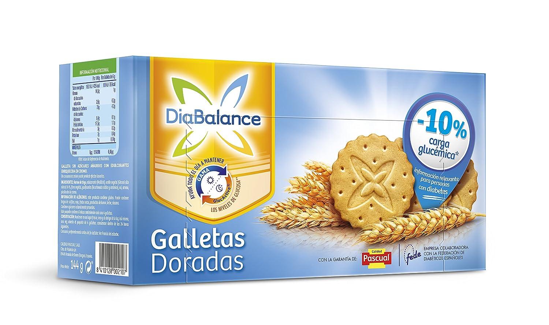 DiaBalance Galleta Dorada - Caja de 6 paquetes con 4 galletas - Total 144 g: Amazon.es: Alimentación y bebidas