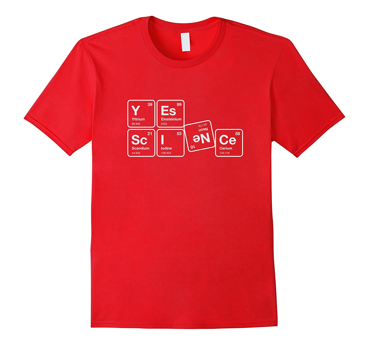 Funny Periodic Table Shirt Yes Science Chemical Elements Th Teehelen