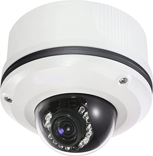 Toshiba 2 Mega Pixel IP Network Dome Camera. Outdoor rated IP66 . Vandal Resistant. Built in IR LED s and Heater Blower. PoE. 3-9mm Varifocal Lens.