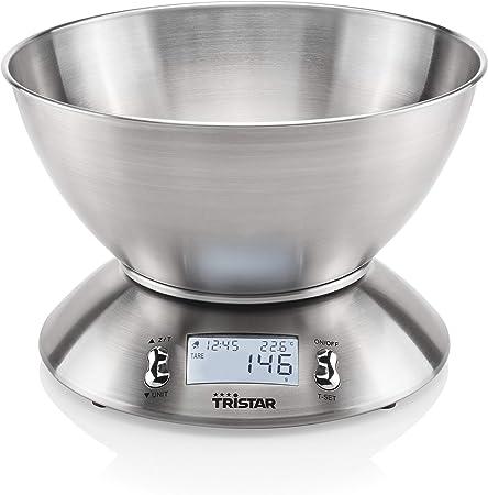 Balance De Cuisine Tristar Kw 2436 5 Kg Acier Inoxydable